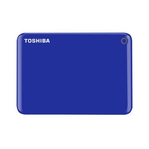 Toshiba Canvio Connect II 1TB USB Type-A 3.0 (3.1 Gen 1) 1000GB Blue