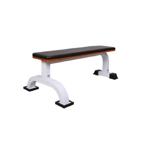 Homcom Flat Exercise & Weightlifting Bench | Padded Fitness & Workout Bench
