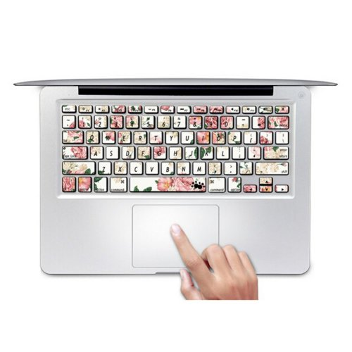 Fashion Ultra-thin WHITE Amento Keyboard Stickers / Decals For SAMSUNG450R4