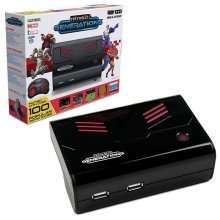 Retro-Bit Generations Plug and Play Game Console Red/Black Over 90+ Retro Games