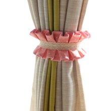 2 Pieces Cotton Pleated Curtain Ties Curtain Tassel Curtain Tassel Curtain Holde