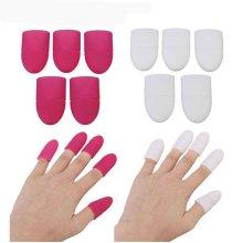 5Pcs Soft Plastic UV Gel Polish Remove Soak Off Cap Comfortable Easy Cleaner Tools