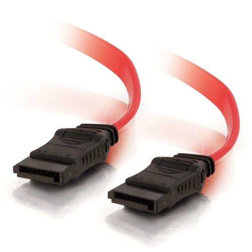 C2G 1m 7-pin SATA Cable 1m SATA 7-pin SATA Red SATA cable