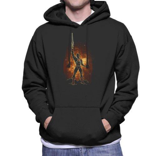 Shadow Of He Man Men's Hooded Sweatshirt