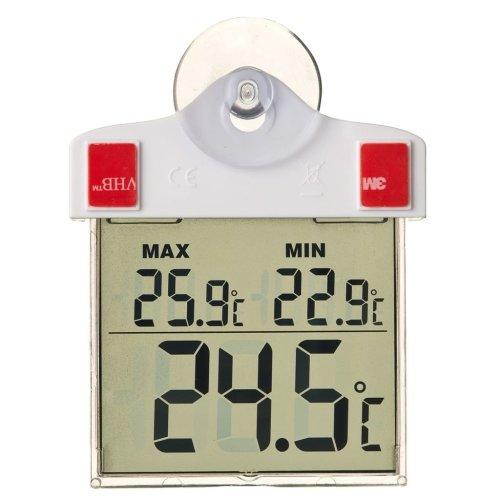 Nature Digital Window Thermometer 13x10x3 cm 6080078