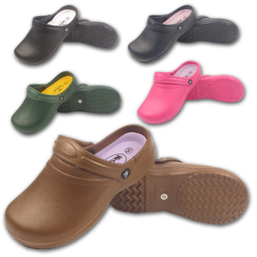 Ladies Garden Nurse Beach Casual Holiday Clogs