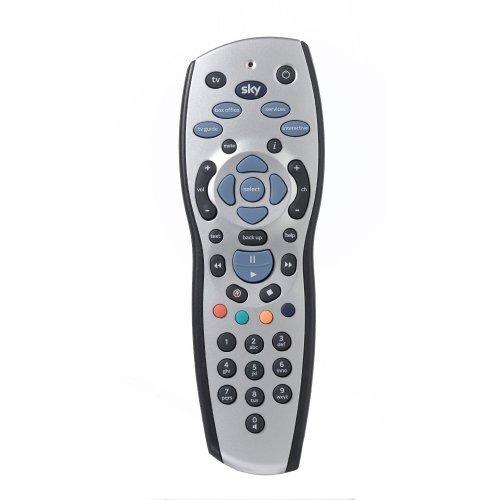 Sky+ HD Remote Control | Silver Sky TV Remote Control