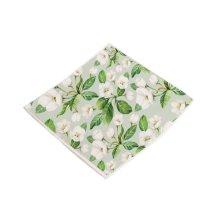 Flower Pattern Chair Cushion Fashion Chair Pads, Light Green