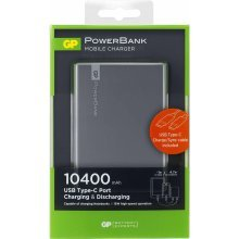 GP Power Bank 1C10AA 10400 mAh 3A/2.1 A 1301C10AAGREY