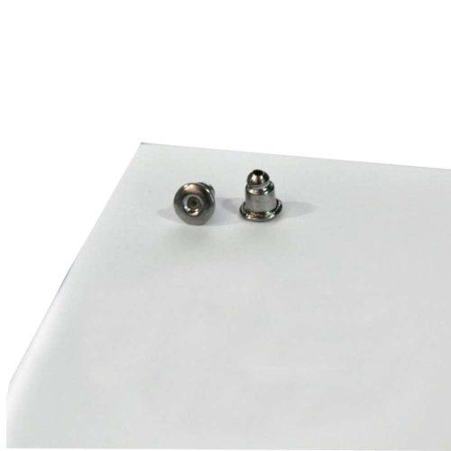 300 Pcs Bullet Clutch Earring Backs Earring Safety Backs ?Black?