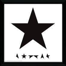 David Bowie Blackstar Framed Album Print