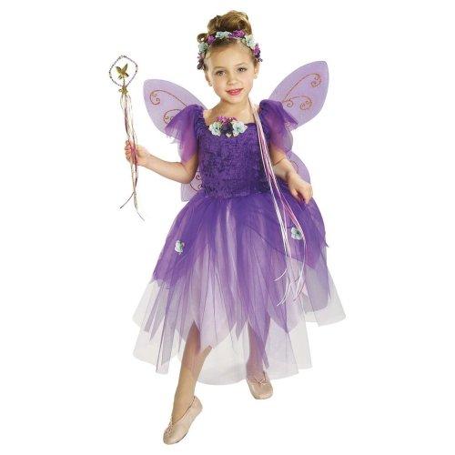 5-7 Years Girls Plum Pixie Costume