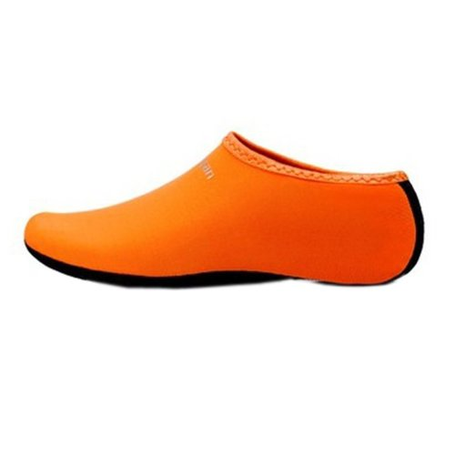 Sand Socks Water Skin Shoes Diving Socks,Orange XL