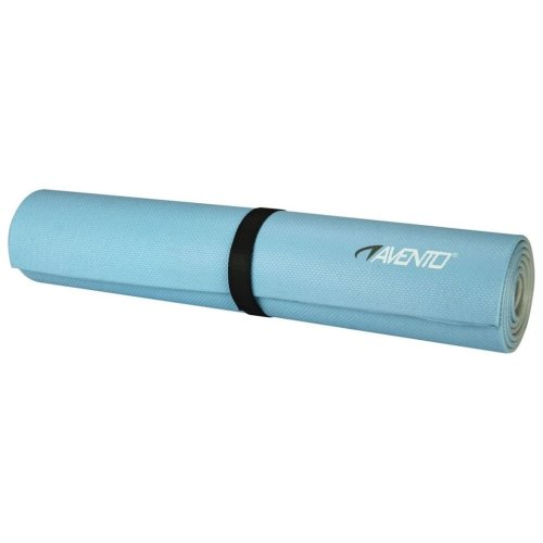 Avento Fitness/Pilates Mat Light Blue/Light Grey 41WB