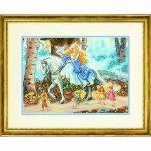 D70-35319 - Dimensions Counted X Stitch - Gold, Fairytale