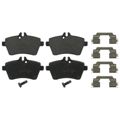 febi bilstein 16810 brake pads with add-on material (Set of 4) (front axle)