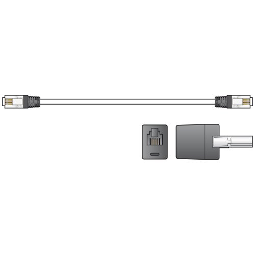 High Quality RJ11 Plug to Plug Modem Leads