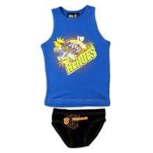 Transformers Pants & Vest - Blue