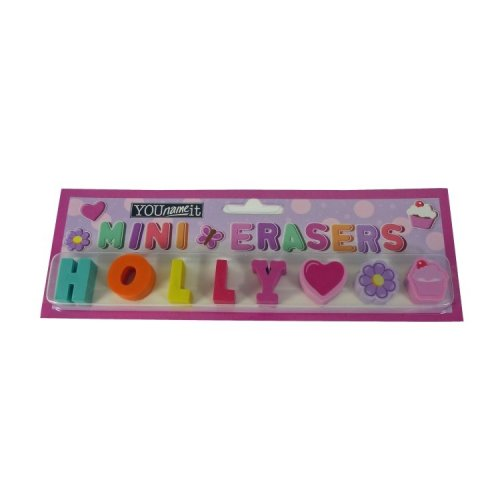 Childrens Mini Erasers - Holly