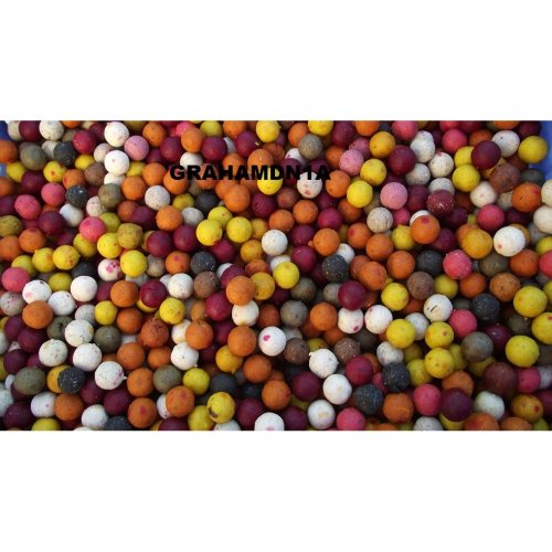 FISHING 1kg 15/16mm MIXED BOILIES INC 10 DRIFFANT FLAVOURS