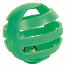 Trixie Four Plastic Rattling Balls For Cat, 4cm - Cat 4cm Toy Bell -  balls cat 4 rattling cm trixie plastic toy four bell