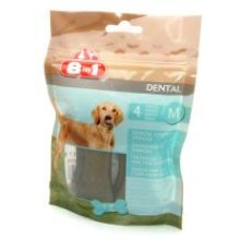 Dental Chewy Snacks Bag M (Pack of 8)