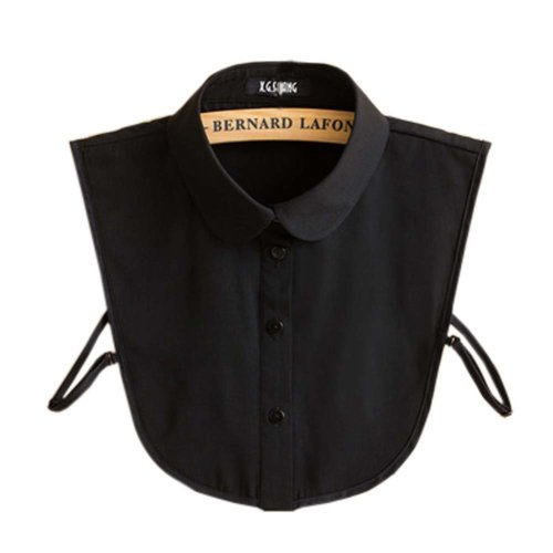 Detachable Collar Fake Collar All-match Fake Half Shirt for Women, #01