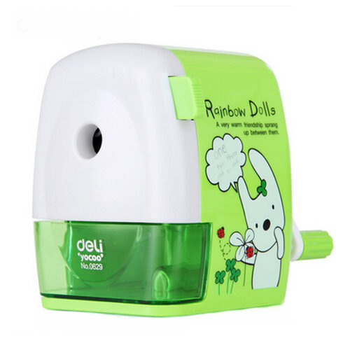 Kids Cute  Manual Pencil Sharpener For Office And Classroom School Stationery