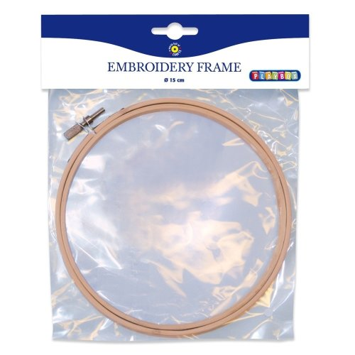 Pbx2470976 - Playbox - Embroidery Frame W/ Screw - Ï 15 Cm, 8 Mm -