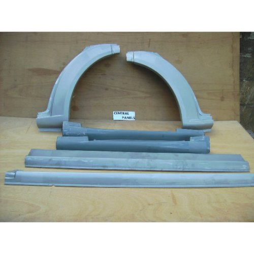 FORD TRANSIT MK6 MK7 2000 TO 2013 NEW FRONT ARCH & SILL SET BOTH SIDES 6 pcs 95