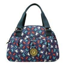Women Waterproof Zipper Tote Bag Handbag Messenger Bag, Multicolored, Monkey