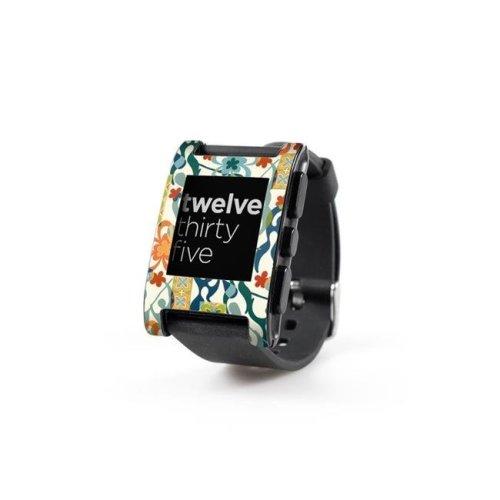 DecalGirl PWCH-RETROPAD Pebble Watch Skin - Retro Paddlers