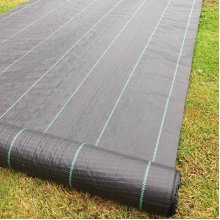 Yuzet 2m wide 100gsm weed control fabric ground cover membrane