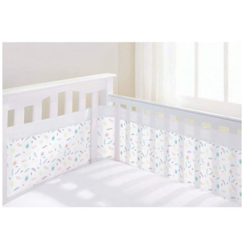Breathable Baby Airflow 2 Sided Cot Liner - Marabou