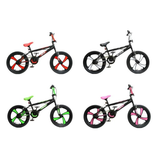 "XN BMX Freestyle 20"" MAG Wheel Kids Bike 4 Colours"