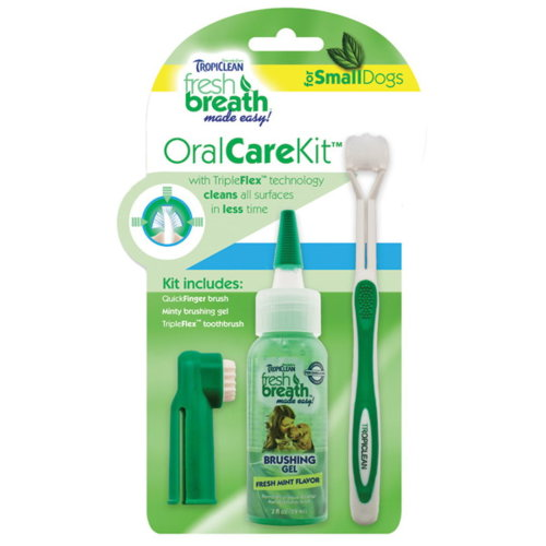 Tropiclean Oral Care Kit Small