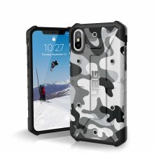 5e809e870 Urban Armor Gear Pathfinder Camo Feather-Light Rugged Military Drop Tested  Case for iPhone XS   X - White