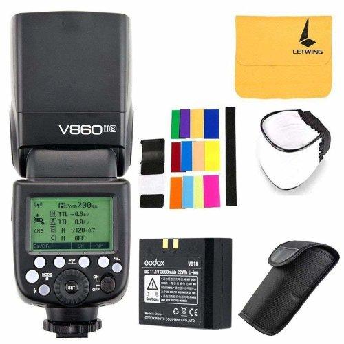 Godox V860II-S TTL Flash 2.4G HSS 1/8000 Li-on Battery Camera Flash Speedlite