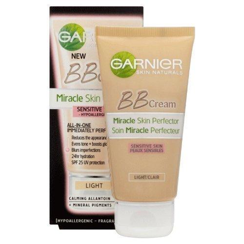 Garnier Miracle Skin Perfector Sensitive BB Cream - Light (50ml)