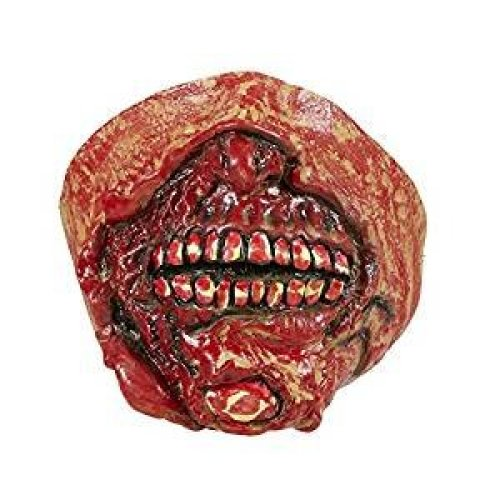 Adults Zombie Mouth Mask - Halloween Fancy Dress Fx Bloody Elastic Accessory -  zombie mouth halloween mask fancy dress fx bloody elastic accessory
