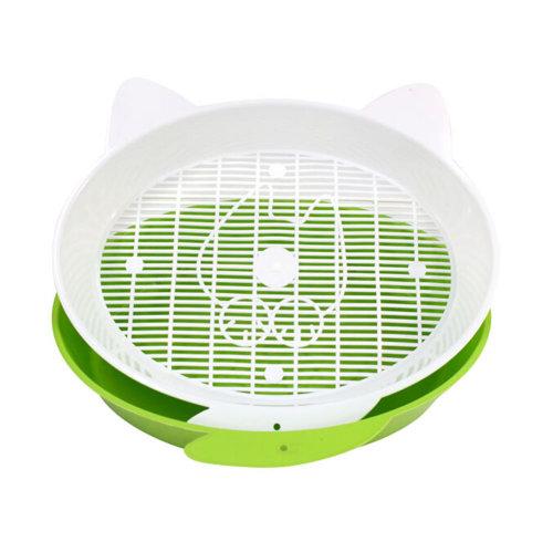 "Pet Supplies & Indoor Training Pet Potty  Cat Training Potty(14""*12.5""*3""),GREEN"