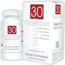 Creative Bioscience 30 Night Diet Supplement, 60 Count