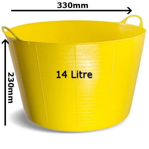 Gorilla Tub SP14Y Small 14 Litre 330 x 230mm