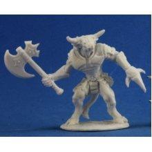 Reaper Bones Bronzeheart, Minotaur Hero