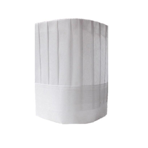 Chef Hat Adult Adjustable Elastic Kitchen Cooking Chef Cap, White