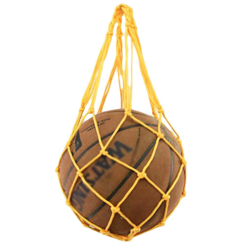 Training Volleyball Football Storage Yellow Basketball Net Mesh Bag