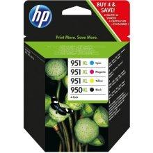 HP C2P43AE (950XL/951XL) Ink cartridge multi pack, 2300+1500 pg, Pack qty 4