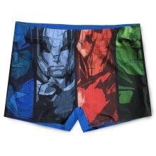 Avengers Swimming Boxers D3 - Blue