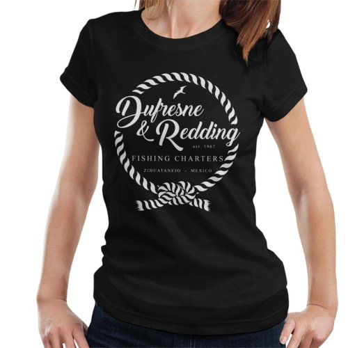 Dufresne And Redding Fishing Shawshank Redemption Women's T-Shirt