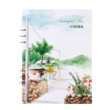Loose Binder Paper Drawing Sketchbook White Paper Drawing Paper Art Paper,A